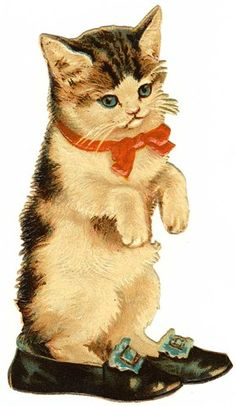 vintage cat valentine