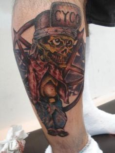 Suicidal Tendencies tattoo