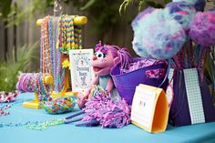 Amazing Sesame Street birthday party