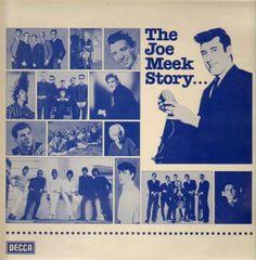Joe Meek double. The Joe, Vintage Rock, British Invasion, Various Artists, Lps, Photo Wall, Movie Posters, Albums, Ocean