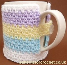 Ravelry: PFC 101 Mug Cozy pattern by Patternsfor Designs