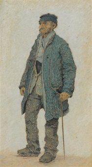 Le piqueur de mégots, 1890, Henri Delavallée