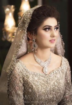 Valima Bride Hairstyle And Makeup Inspo Designer Is Republic Women's on Beautiful Makeup Photos 5164 Asian Bridal Dresses, Pakistani Wedding Outfits, Wedding Dresses For Girls, Bridal Outfits, Pakistani Dresses, Girls Dresses, Bridesmaid Dresses, Formal Dresses, Bridal Hairstyle Indian Wedding