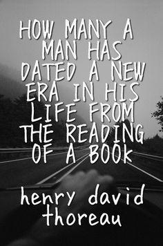 From Henry David Thoreau