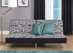 This Is On The Top Of My List To Get For Room A Zebra Print Futon All I Want