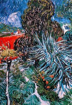 Vincent Van Gogh, Dr Gachetu0027s Garden In Auvers, 1890. On ArtStack #vincent