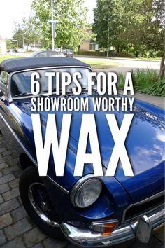 6 tips for a showroom worthy wax!