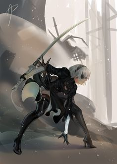 Other Games Storage And Organization record storage and file organization in dbms Female Character Design, Game Character, Fantasy Characters, Female Characters, Drakengard Nier, Anime Pictures, Warrior Girl, Action Poses, Anime Scenery