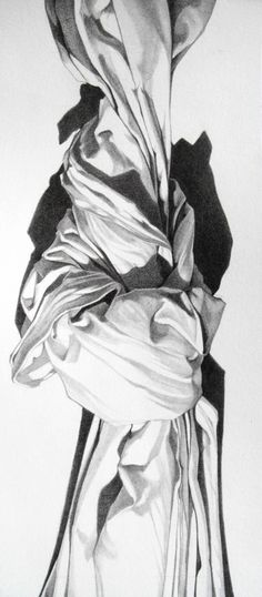 A Study of SHADOWING. Crayon et pastel blanc par Krysztov20d