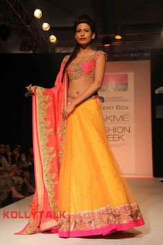 Anushree Reddy http://www.kalkifashion.com/designers/anushree-reddy.html @ Lakme Fashion Week #LFW 2013