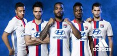 nueva camisetas de futbol del Lyon Olympique baratas 2016 2017 de Inicio