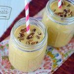 Gluten Free Dairy Free Pumpkin Pecan Smoothie