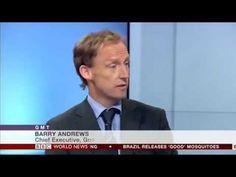 Barry Andrews on BBC World News - YouTube Bbc World News, No Response, Highlights, Goals, Youtube, Luminizer, Hair Highlights, Youtubers, Highlight