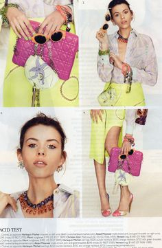 Harlequin Market Press - GRAZIA - Signed Miriam Haskell bracelet, HQM crystal accents and HQM earrings