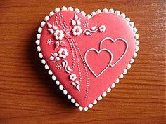 Dekorácie - Valentínsky medovník č.1 - 2154204