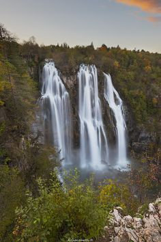 Plitvice waterfall - Photography by Alessandro Giacometti http://ift.tt/1PlHKLi