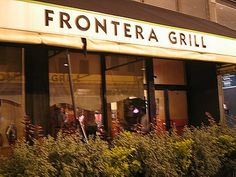 Eat at Rick Bayless's restaurant Frontera in Chicago, Illinois. I did this on September 21 2011 with Carson.