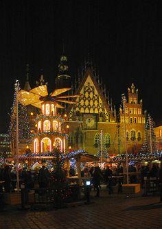 Christmas market - Wroclaw, Dolnoslaskie