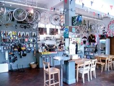 bike cafe - Google Search