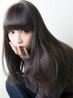 マイ ヘア デザイン(MY hair design)大人こっくりなグレイッシュカラー by 三角祐太
