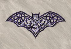 DeviantArt: More Collections Like Celtic Knot Zoomorphic- Rats by realitysquared Celtic Symbols, Celtic Art, Celtic Knots, Celtic Tattoos, Bat Tattoos, Tatoos, Tattoo Symbols, Sleeve Tattoos, Celtic Knot Designs
