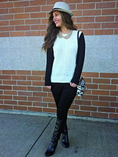 Black + White Outfit