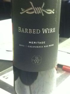 Barbed Wire Meritage - Loved this!