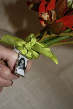 Memorial Bridal Keepsake Bouquet Charm