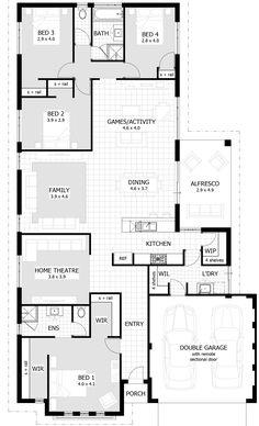 Clarion Floor Plan | Copyright © 2017 Celebration Homes