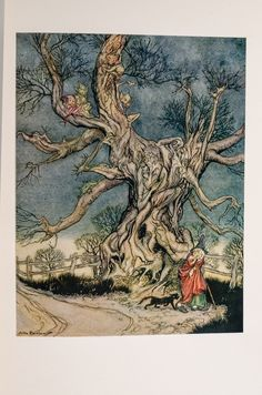 Arthur Rackham. The legend of sleepy hollow.