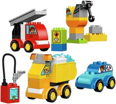 Buy LEGO DUPLO My First Cars and Trucks - 10816 at Argos.co.uk, visit Argos.co.uk to shop online for LEGO, LEGO and construction toys, Toys