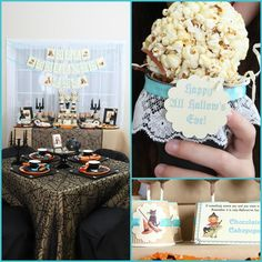 Vintage Halloween Party with Lots of REALLY CUTE IDEAS via Kara's Party Ideas   KarasPartyIdeas.com #HallowsEve #Party #Ideas #Supplies (38)...