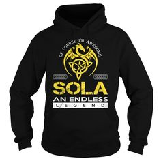SOLA An Endless Legend (Dragon) - Last Name, Surname T-Shirt