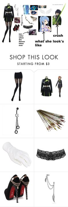 """""""Owari no Seraph OC: Luna"""" by angel12345 ❤ liked on Polyvore featuring Chantal Thomass, Bling Jewelry and Yuu"""