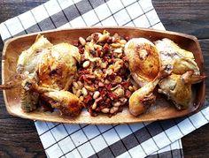 roast chicken with chorizo stuffing