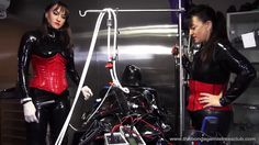 Mistress Miranda presents Serious Kit Customized Vacuum Suit in Action w...