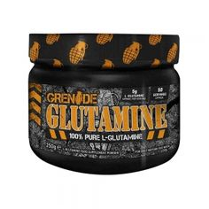 100% Glutamina pura, Grenade, 250g The 100, Container, Pure Products, Accessories, Health, Canisters