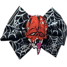 Kreepsville - TOXIC TOONS HAIRBOW RED ZOMBIE#goth #gothic #punk #punkrock #rockabilly #psychobilly #pinup #inked #alternative #alternativefashion #fashion #altstyle #altfashion #clothing #clothes #vintage #noir #infectiousthreads #horrorpunk #horror #steampunk #zombies #horrorbarettes #gothbarettes #punkbarettes