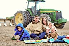 Love having the toy tractor in it too..... This will be a family photo sometime during my life time!