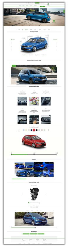 Skoda Auto Redesign on Behance