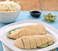 Yummy.ph | Lessons |  How to Make Hainanese Chicken