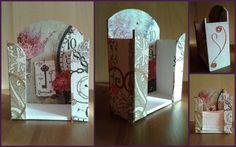 Vintage papírzsebkendő tartó Bookends, Decoupage, Kiss, Blog, Vintage, Home Decor, Decoration Home, A Kiss, Kisses