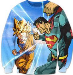 Goku vs Superman Crewneck Sweatshirts Women Men 3d Fashion Clothing Harajuku Sweats Jumper Outfits Dragon Ball Cartoon Hoodies  Gender: MenItem Type: Hoodies,SweatshirtsClothing Length: RegularClosure Ty...   https://nemb.ly/p/VyB5yRz=_ Happily published via Nembol