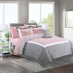 Comfortable teen girl bedrooms tips for that smart teen girl room feel, image info 5030118227 Teen Girl Bedding, Bedroom Decor For Teen Girls, Teenage Girl Bedrooms, Teen Room Decor, Pink Bedding, Room Decor Bedroom, Bedroom Ideas, Boy Bedrooms, Bed Comforter Sets