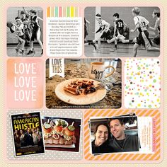 Digital Project Life - Becky Higgins Kits - Neapolitan, Baby and Celebrate