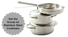 In a previous post I mentioned that stainless steel can leach aluminum. I was really surprised at the amount of questions and comments that generated! Leaching from stainless steel cookware might be a significant issue if you are attempting to heal a sensitive person, but honestly I have never really tackled the issue in my kitchen. My stock pots are starting to pit and look a bit worn, so it's time to invest in some new ones and to do a little more learning.   TraditionalCookingSchool.com