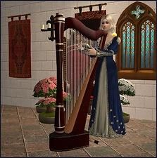 Mod The Sims - *Playable Harp*