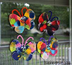 Butterfly Craft - Suncatchers