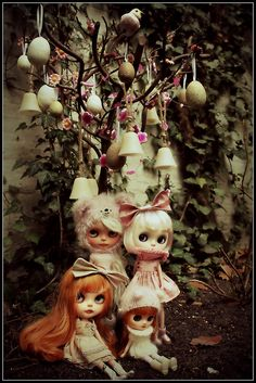 We found the Easter egg tree, sssshhh dont tell anyone! by OhChiWaWa!, via Flickr