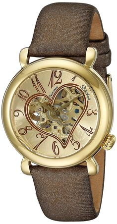 Stuhrling Original Women's 109.1235E31 Lifestyle 'Cupid' Automatic Skeleton Watch >>> Click image to review more details.